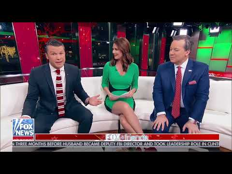 Molly Line And Trish Regan - Fox And Friends 12 24 17