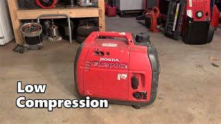 Honda EU2000i Tear-down and Fix - Low Compression
