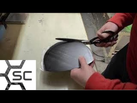 How to make compression molded DLG tails