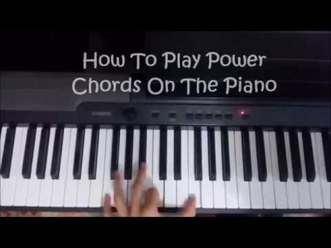 How To Play Power Chords On The Piano ( 3 Steps Only, SUPER EASY ...