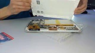 Assistant AP-105 разборка планшета