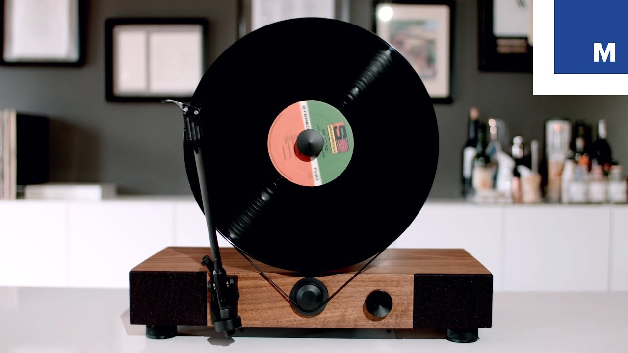 Gramovox Floating Vertical Record Player Youtube