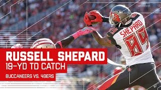 Jameis Winston Floats a Great TD Pass to Russell Shepard! | Buccaneers vs. 49ers | NFL