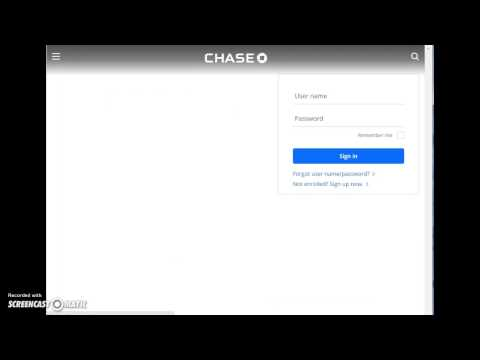 Chase Credit Card Login | www.chase
