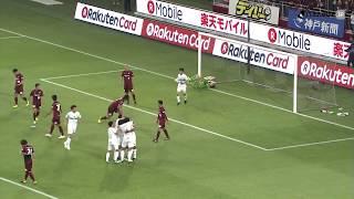 2018年5月9日(水)に行われたJリーグYBCルヴァンカップ GS 第5節 神戸...