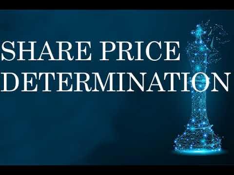 Share price determination ,Economy ,Stocks