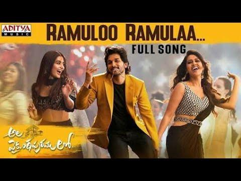#RamulooRamulaa#Full Song#From#The #TeluguMovie #AlaVaikunthapurramuloo