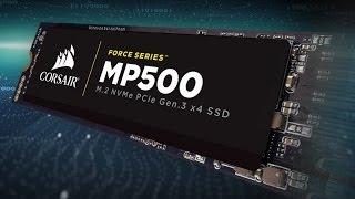 CORSAIR FORCE SERIES MP500 - Blazing Fast PCIe Storage