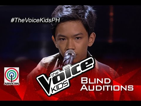 "The Voice Kids Philippines 2015 Blind Audition: ""Give Me Love"" by Andrew"