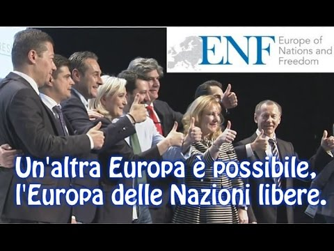 """Primo Convegno """"ENF"""" - Europe of Nations and Freedom - 28/01/2016"""