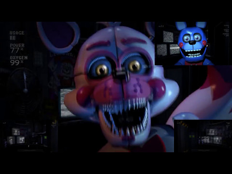 [OLD] FNAF Sister Location Jumpscares - Sparta IHY Remix