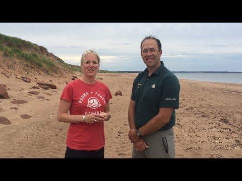 Climate change and coastal erosion, PEI National Park