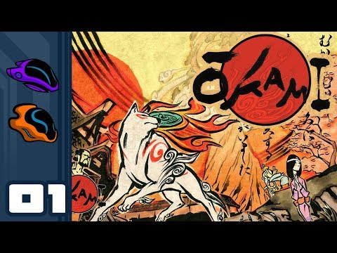 Let's Play Okami [HD Remaster] - PC Gameplay Part 1 - Who's A Good Dog?