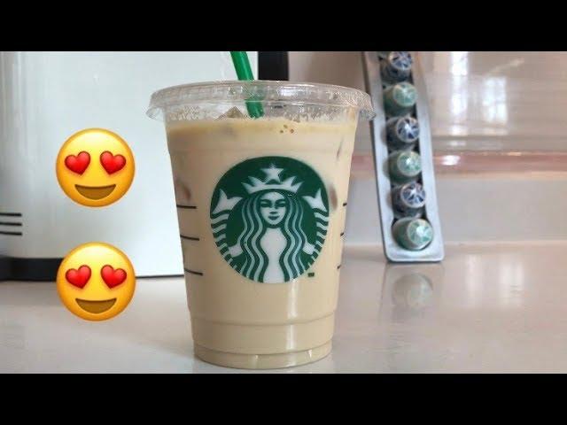ستاربكس آيس شيكن وايت موكا Starbucks Iced Shaken White Mocha Youtube
