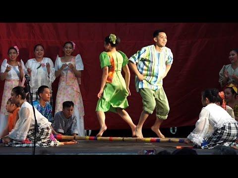 Tinikling/Tinkling/Bamboo Dance-Philippines Traditional Cultural Dance/Folk Music/Kawayan