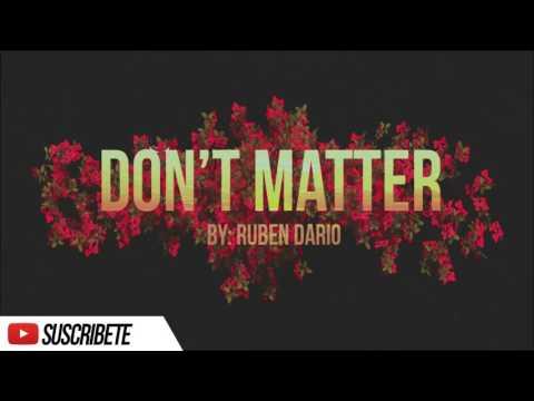 Don't Matter - Instrumental R&B (By: Ruben Dario) FREE