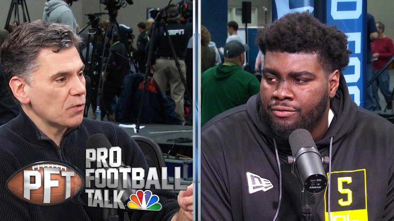 2020 NFL Draft: Mekhi Becton loves dominating defenders | Pro Football Talk | NBC Sports