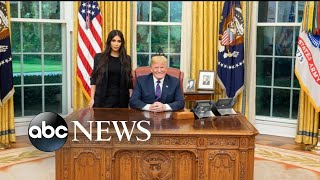 Trump honors clemency request backed by Kim Kardashian