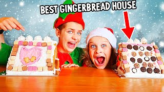 WHO CAN MAKE THE BEST GINGERBREAD HOUSE Challenge By The Norris Nuts