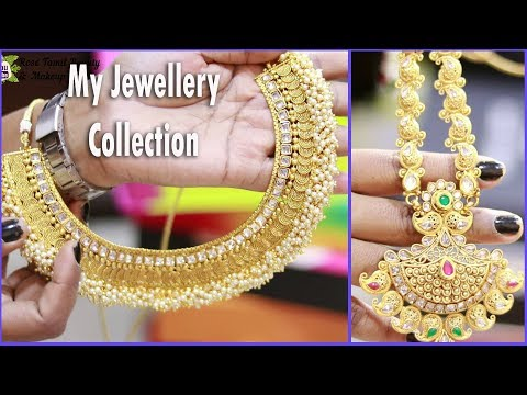 MY JEWELLERY COLLECTION 2018 | Jewellery Organizing Ideas in Tamil| Rose Tamil Beauty & Makeup