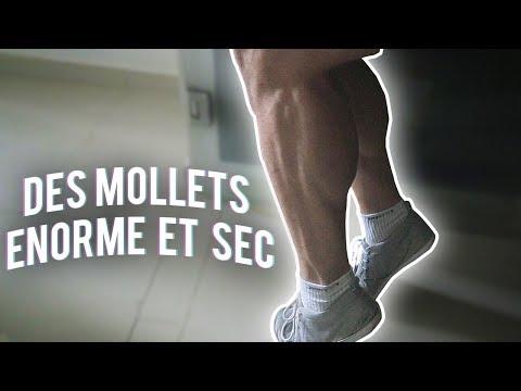 VLOG #48 // LE SECRET POUR AVOIR DES GROS MOLLETS !!