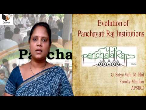 Satyavani speech on panchayat raj in india Part-1 (www.precisionacademy.in)