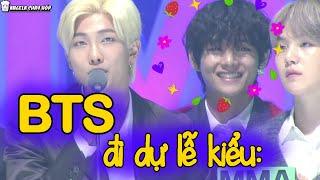 BTS đi dự lễ kiểu: