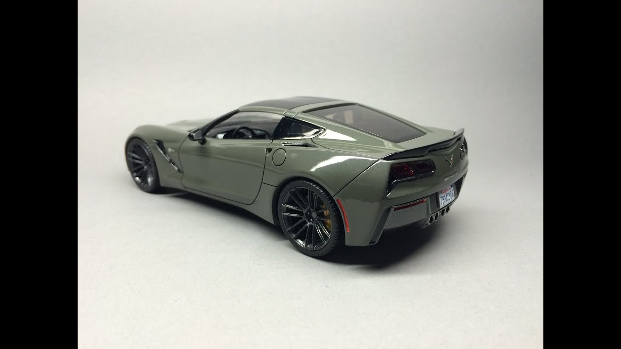 Revell Corvette C7 Stingray Slideshow   YouTube