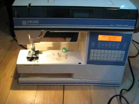 MVI 40 YouTube Interesting Viking 400 Sewing Machine Review