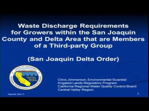 2014-3-12 / Board Adoption Hearing for Irrigated Lands Regulatory Program