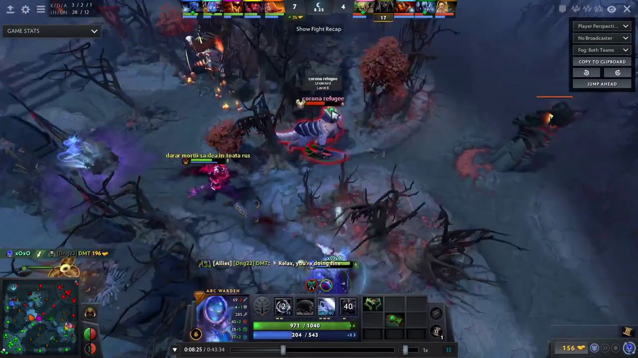 6.5k mmr player explains How to deal with Arc Warden