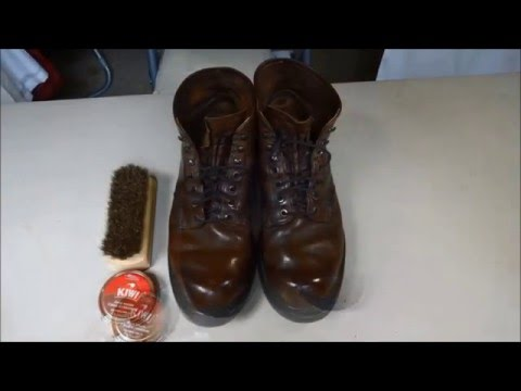 Simple and Easy Boot Polishing