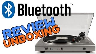 Crosley T300 Bluetooth Turntable Unboxing & Review!!!