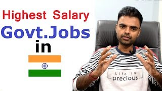 Highest Salary Govt Jobs in India,  Highest Salary PSU in India Through GATE