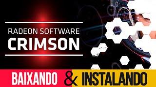 AMD Crimson ReLive Edition NOVO DRIVE / ERRO NA ATUALIZAÇÃO DO DRIVE DA AMD RELIVE