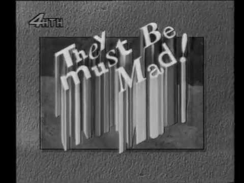 "They Must Be Mad! (Australia, 1993). Телеканал ""НТН-4"", 1995 год. Новосибирск (Ч/Б)"