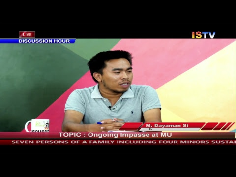 8 PM DISCUSSION HOUR TOPIC : Ongoing impasse at Manipur University 8 JUNE 2018 / LIVE