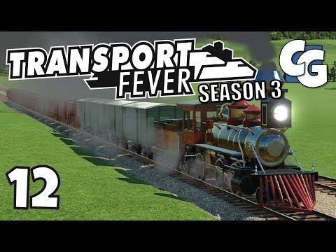 Transport Fever - S03E12 - Debt-Free Optimized Supply Chain - Transport Fever Let's Play