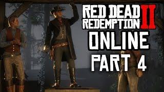 RED DEAD ONLINE Gameplay Walkthrough Part  4 - MY FIRST ONLINE HORSE RACE