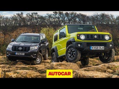 2019 Suzuki Jimny offroad 4x4 review | Can it take on a Land Cruiser? | Autocar
