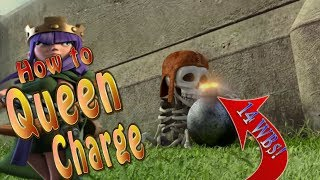 How to Queen Charge with 14 Wallbreakers! | Amazing Clash of Clans Attacks 2017 | TH10 3 Star