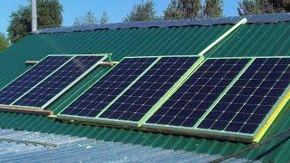Моя Солнечная Электростанция 12 ВОЛЬТ !!!