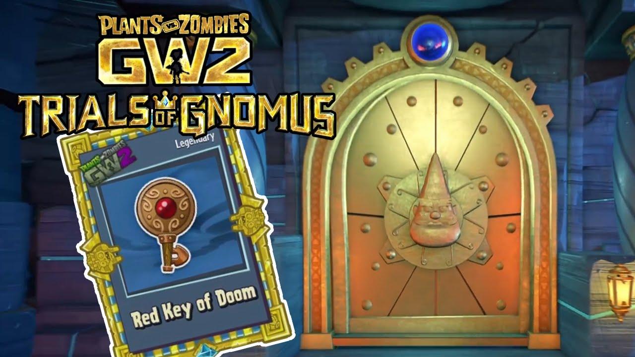THE TRIAL KEYS! + REWARD UPDATES - Plants vs Zombies Garden Warfare 2  `TRIALS OF GNOMUS`