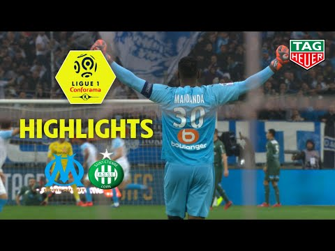 Olympique de Marseille - AS Saint-Etienne ( 2-0 ) - Highlights - (OM - ASSE) / 2018-19