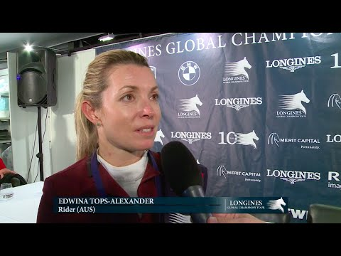 Longines Global Champions Tour Grand Prix of Antwerp Third Edwina Tops-Alexander