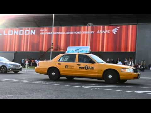 Gotham City Police Department Ford Crown Victoria & New York City Yellow Cab