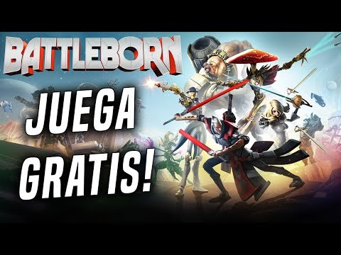 BATTLEBORN | #1 BATTLEBORN FREE TO PLAY! | Gameplay Español