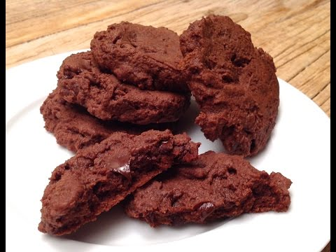 comment-faire-des-biscuits-double-chocolat-de-style-brownies-/-recette-facile,-tuto