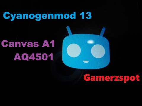 Cyanogenmod 13 For  Micromax Canvas A1 AQ4501