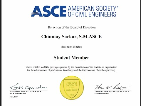 how to apply for student membership at ASCE(American society of civil engineering) & get 3 magazine